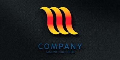 M Logo Vector 052