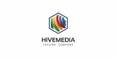 Hive Media Logo Template