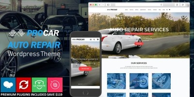Procar WordPress Theme