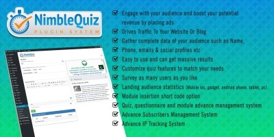 Nimble Wordpress Quiz System Plugin