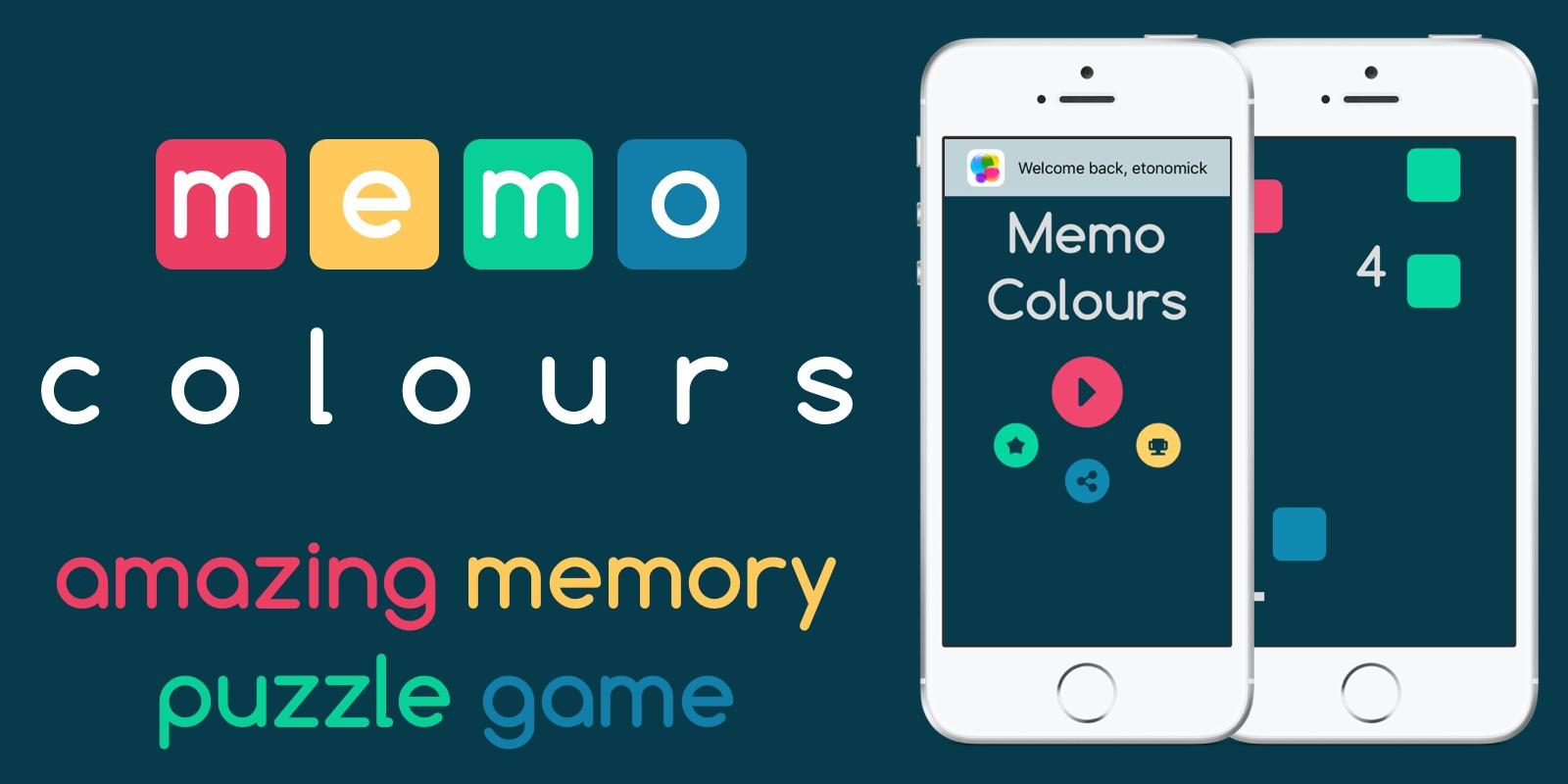 Memo Colours - iOS Game Source Code