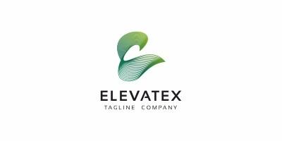 Elevatex E Letter Logo