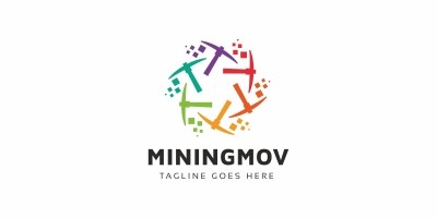 Mining Move Bitcoin Logo