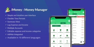 iMoney - Money Manager iOS