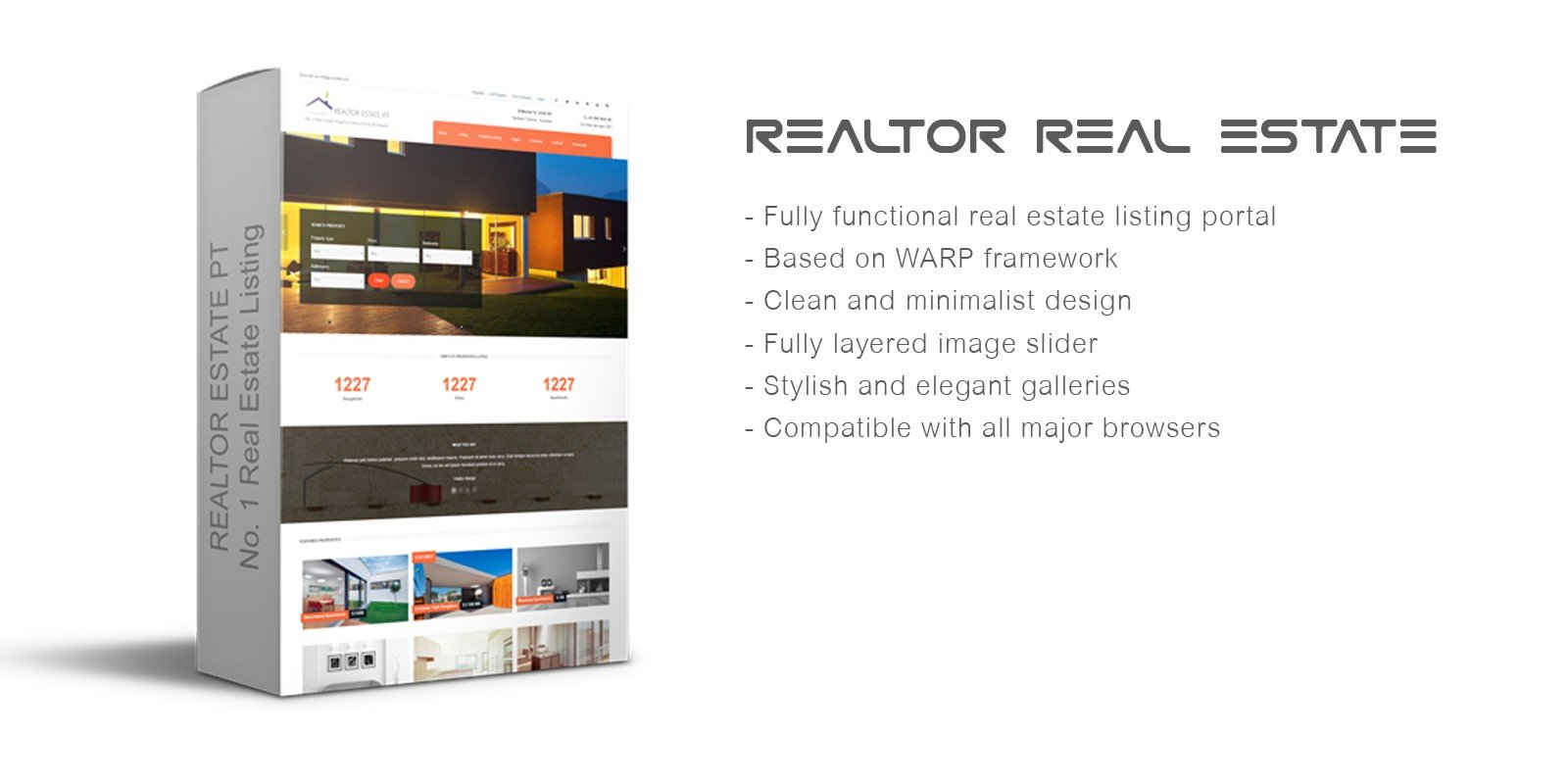 Realtor Real Estate Joomla Template