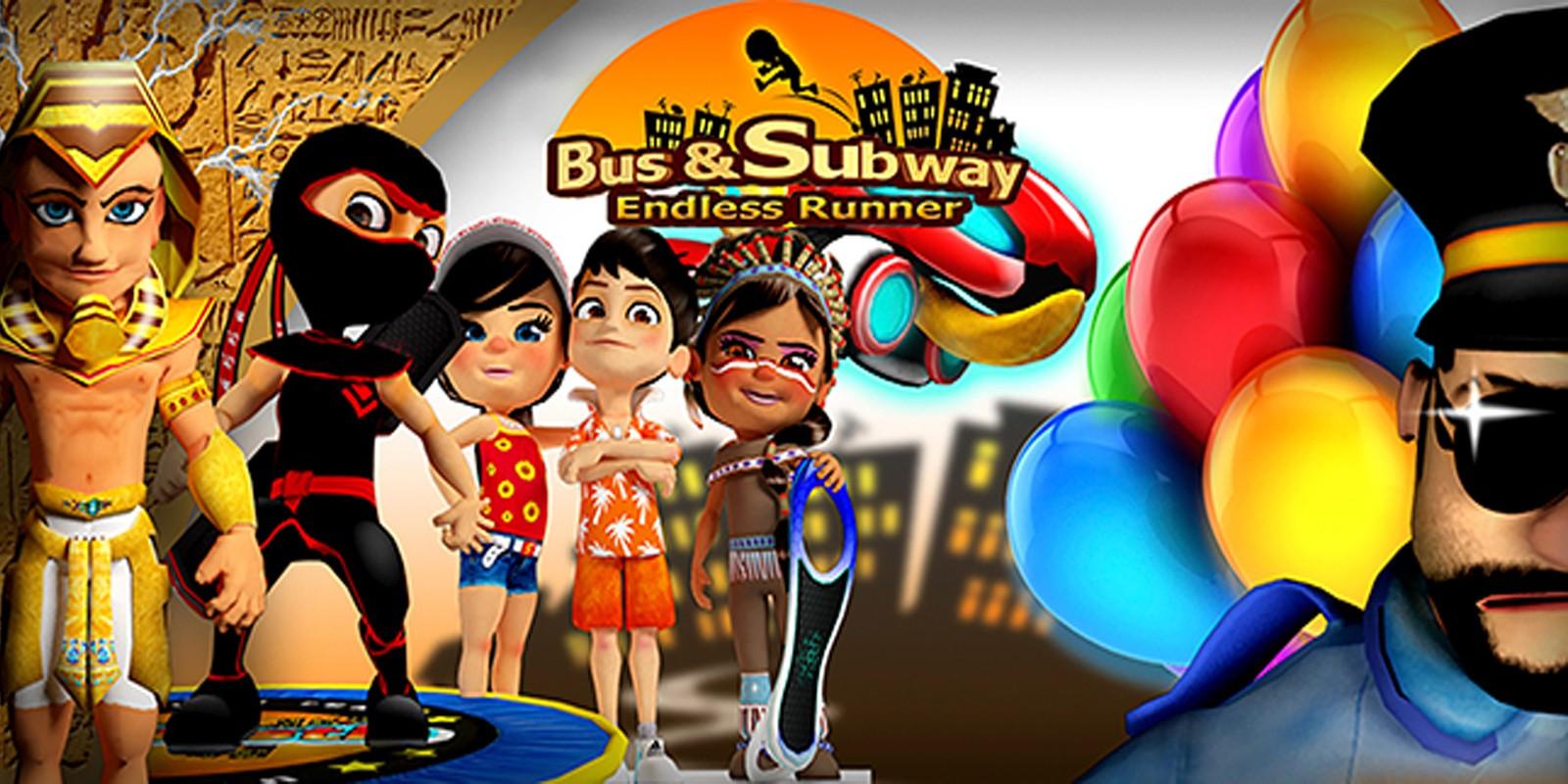 Bus AndSubway Endless Runner Unity