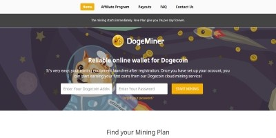 DogeMiner - Cloud Mining Script