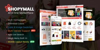 ShopyMall -  MarketPlace WordPress Theme