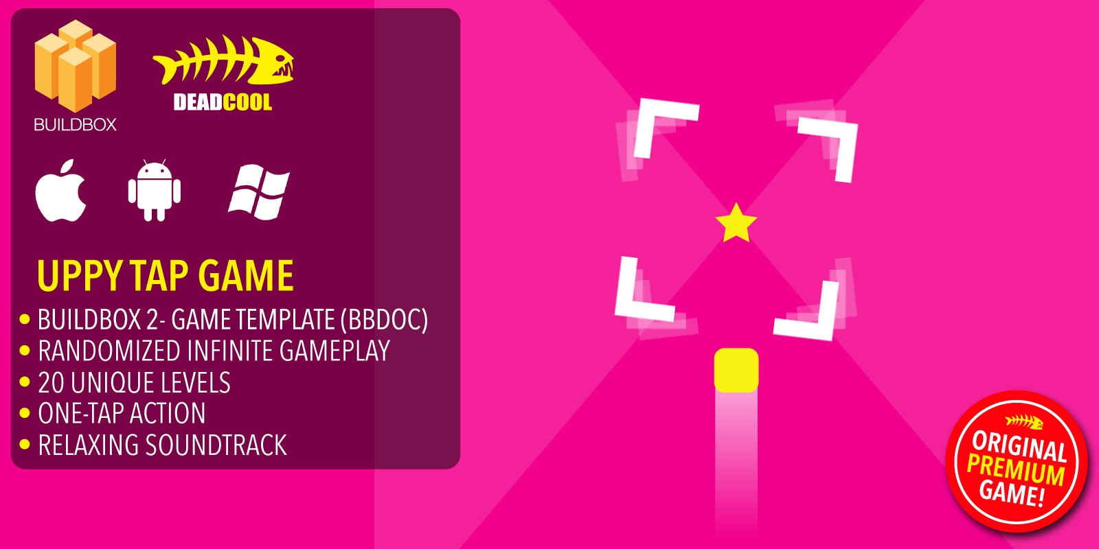 Uppy Tap - BuildBox Game Template