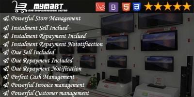 MyMart - Shop Management PHP Script
