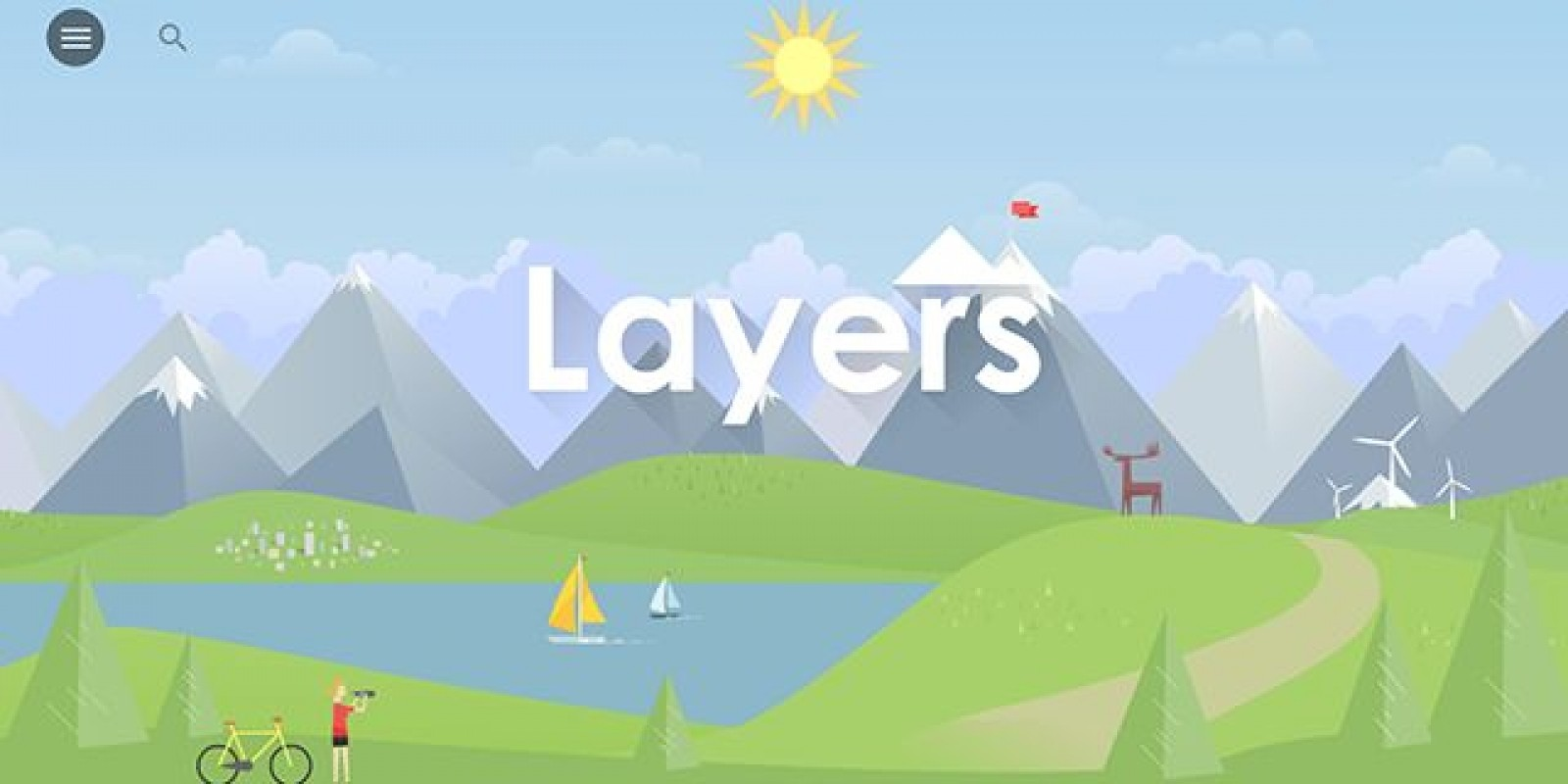 Layers - HTML5 Landing Page Template
