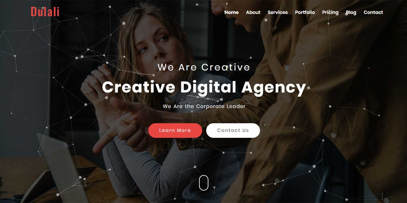 DULALI - One Page Multipurpose Template