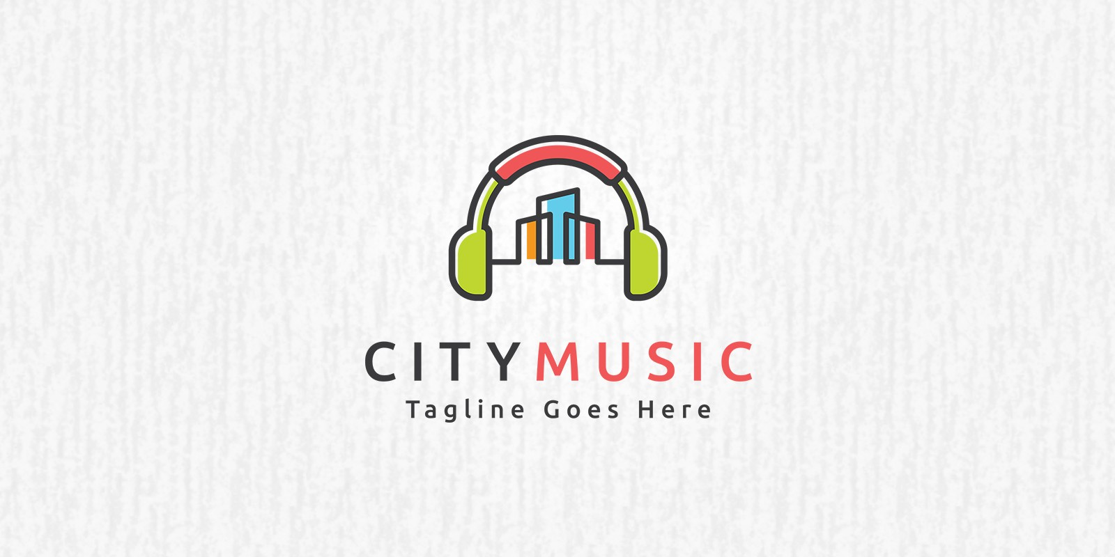 City Music Logo Template