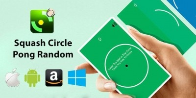Circle Pong Squash - Corona SDK App Source Code