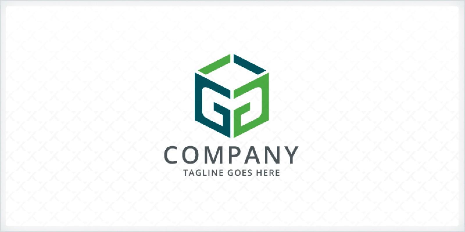 Letters GG Box Logo