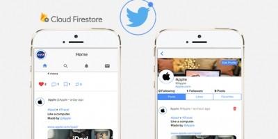 Twitter Clone Ionic 3 Firestore