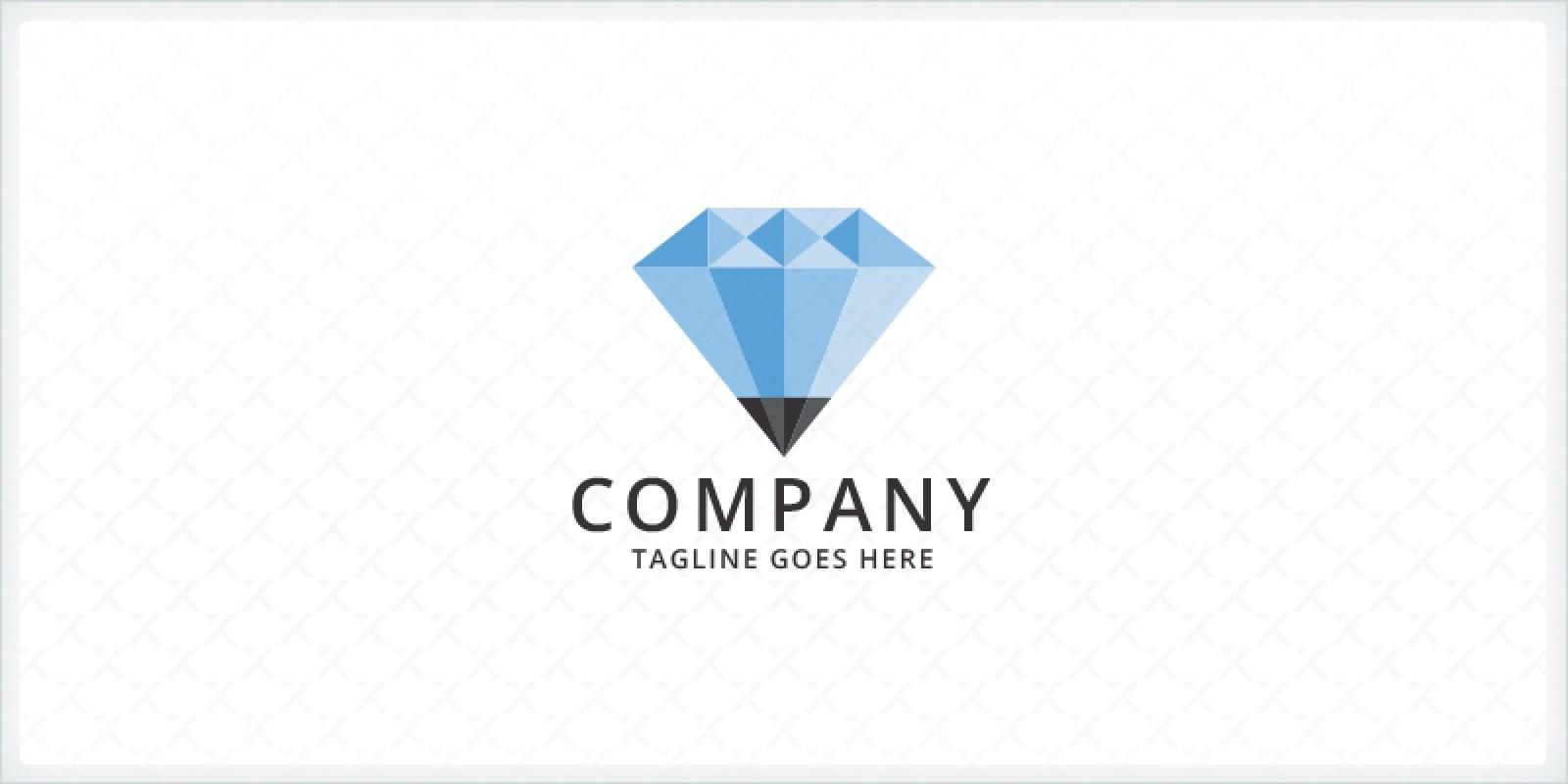 Diamond Pencil Logo