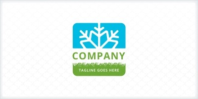 Lawn Care and Snow Removal Logo