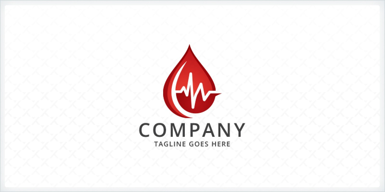 Blood Droplet - Medical Logo