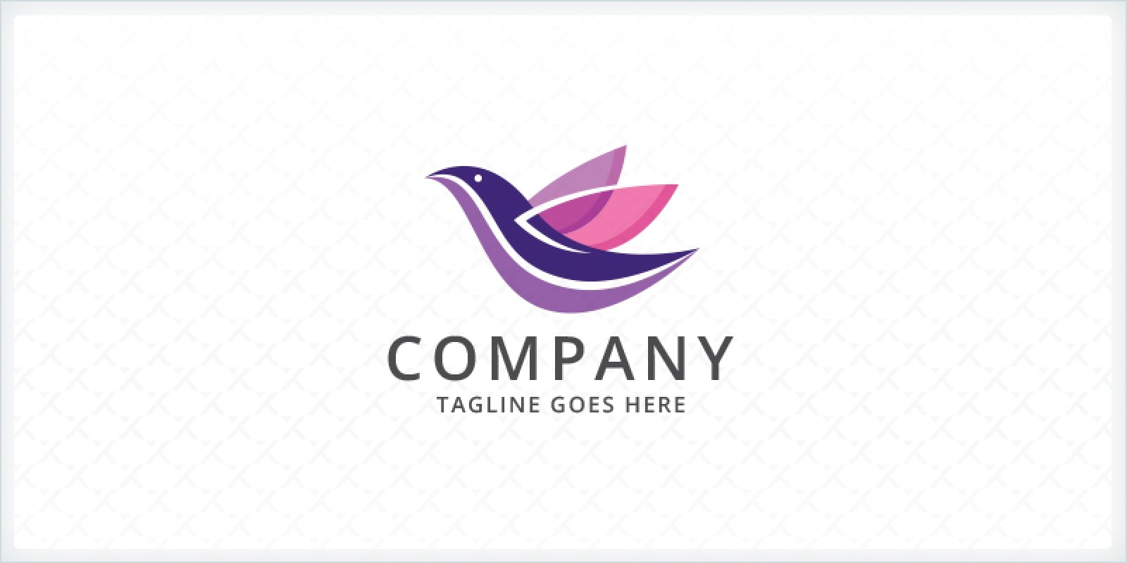 Stylized Bird Logo