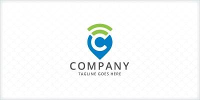 Letter C - Geo Tagging Logo