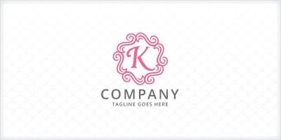 Ornamental - Letter K Logo
