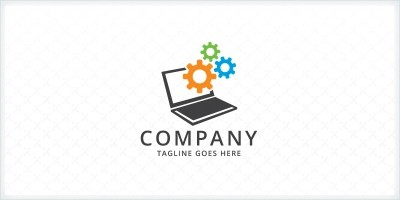 Computer Repair Services Logo