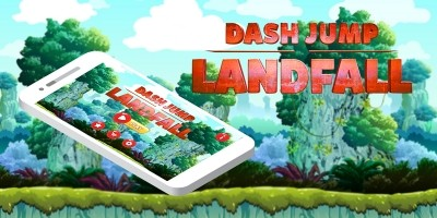 Dash Jump Landfall Buildbox Template