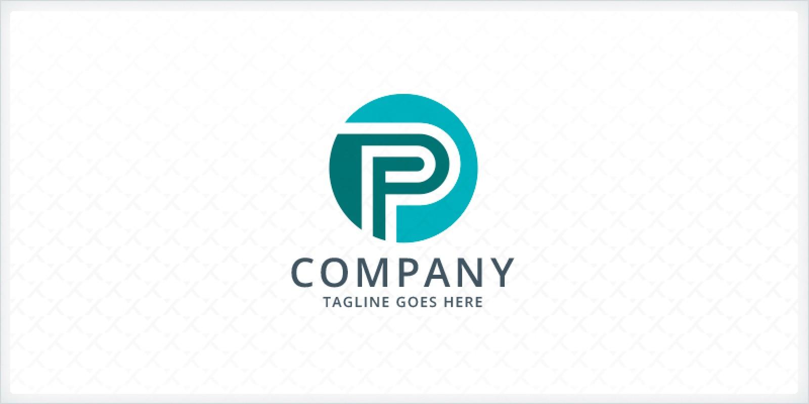 Circle Letter P Logo