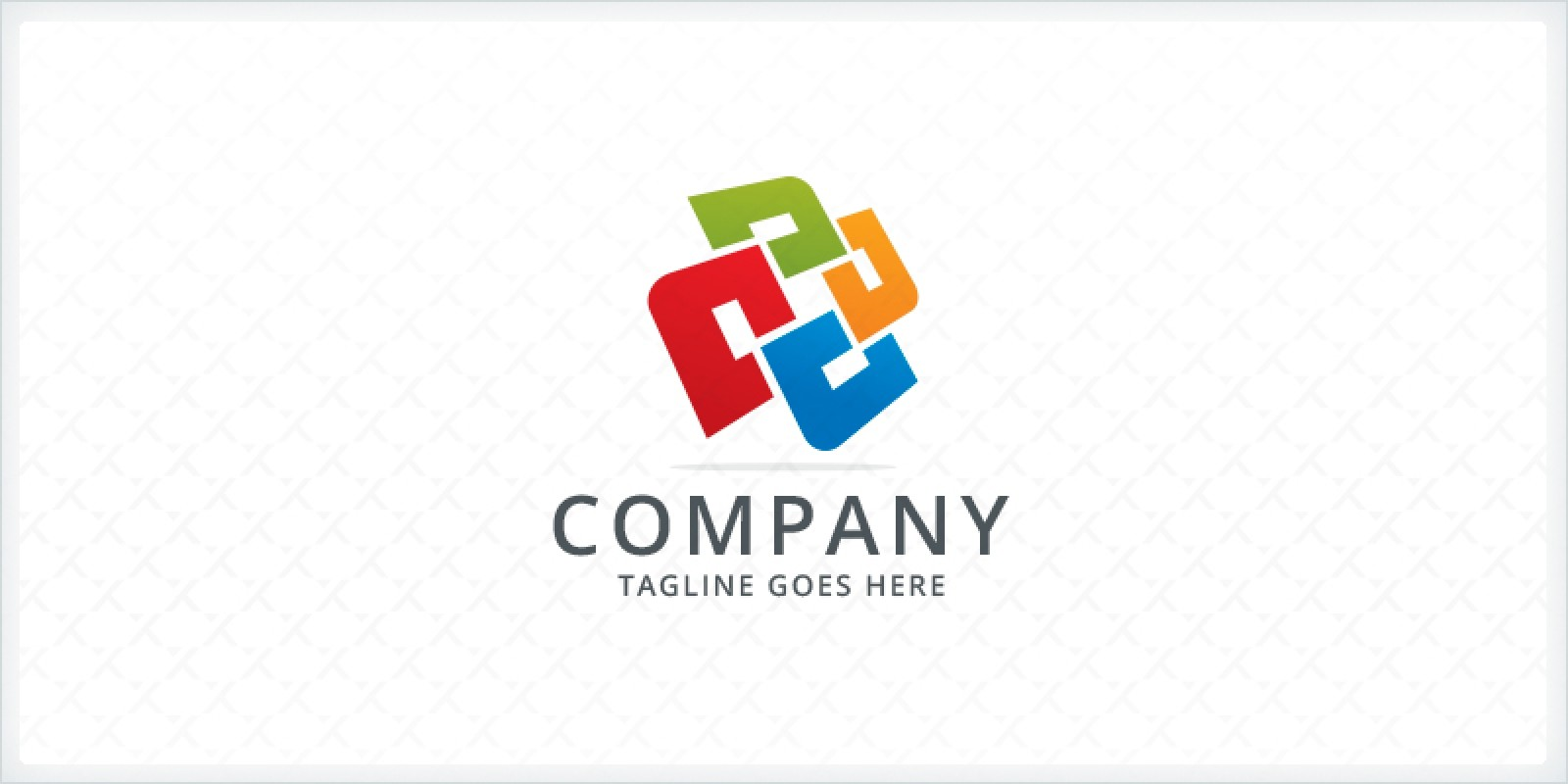 Overlapping Paper Logo