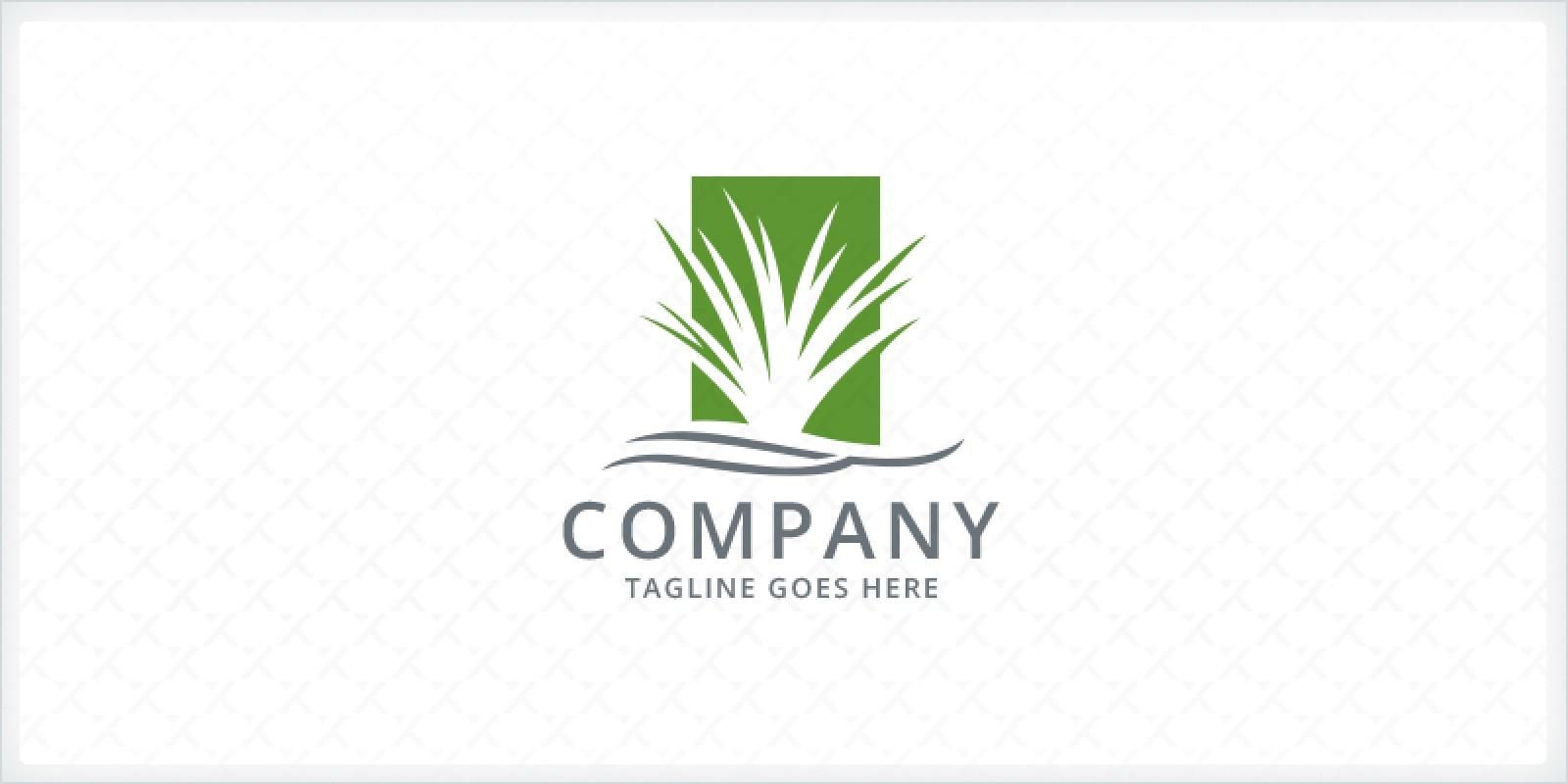 Grass - Landscaping Logo