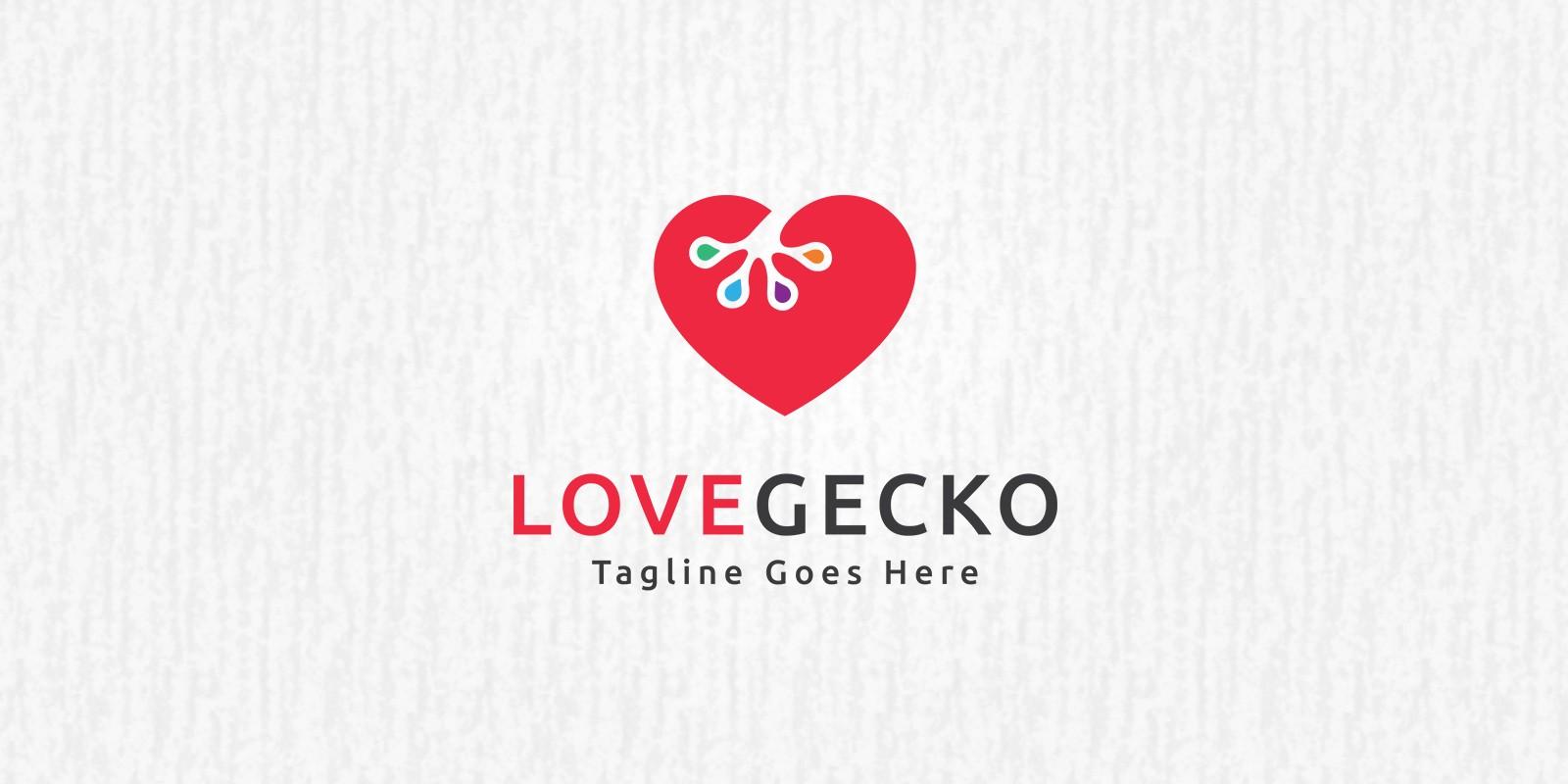 Love Gecko Logo
