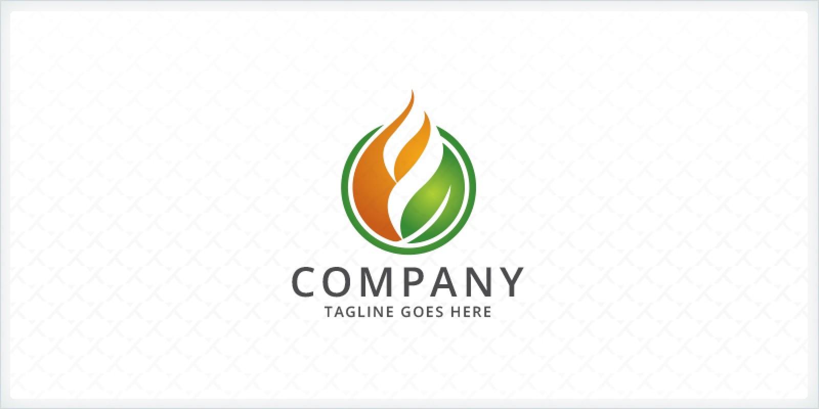 Leaf Fire Logo