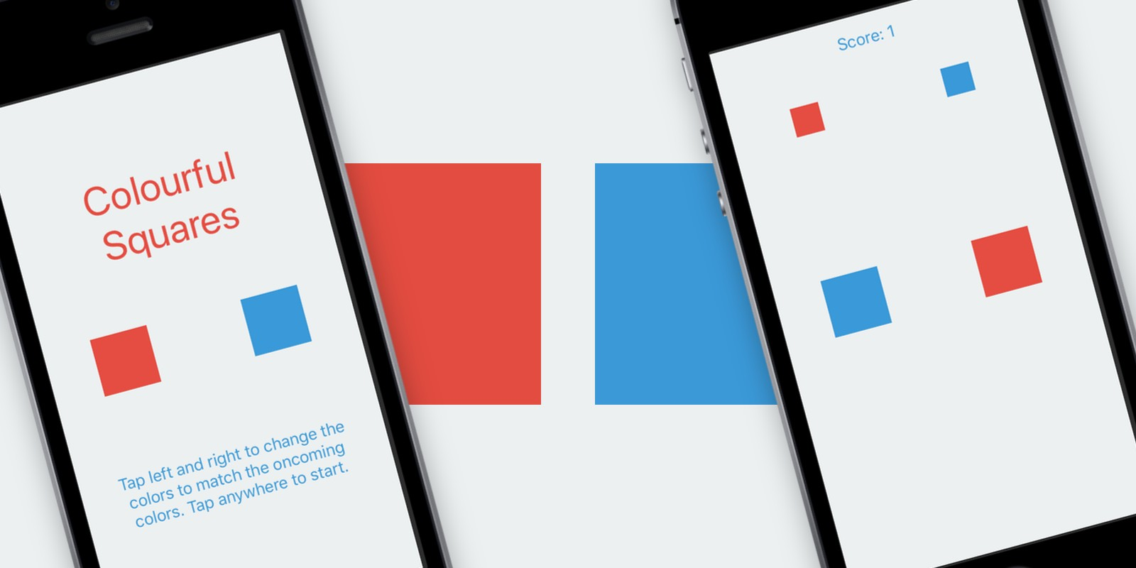 Colourful Squares - iOS Game Source Code