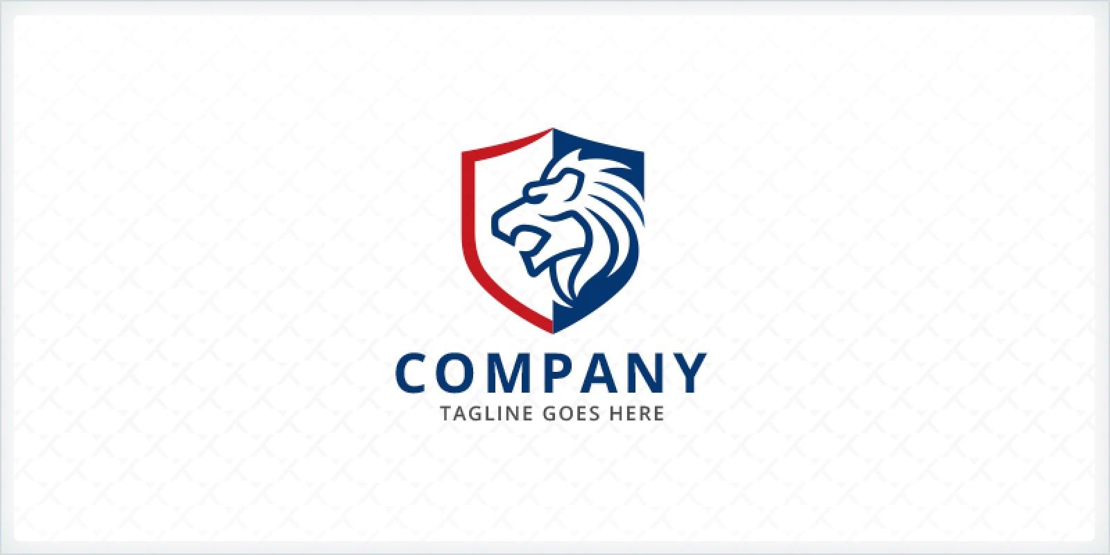 Lion - Shield Logo