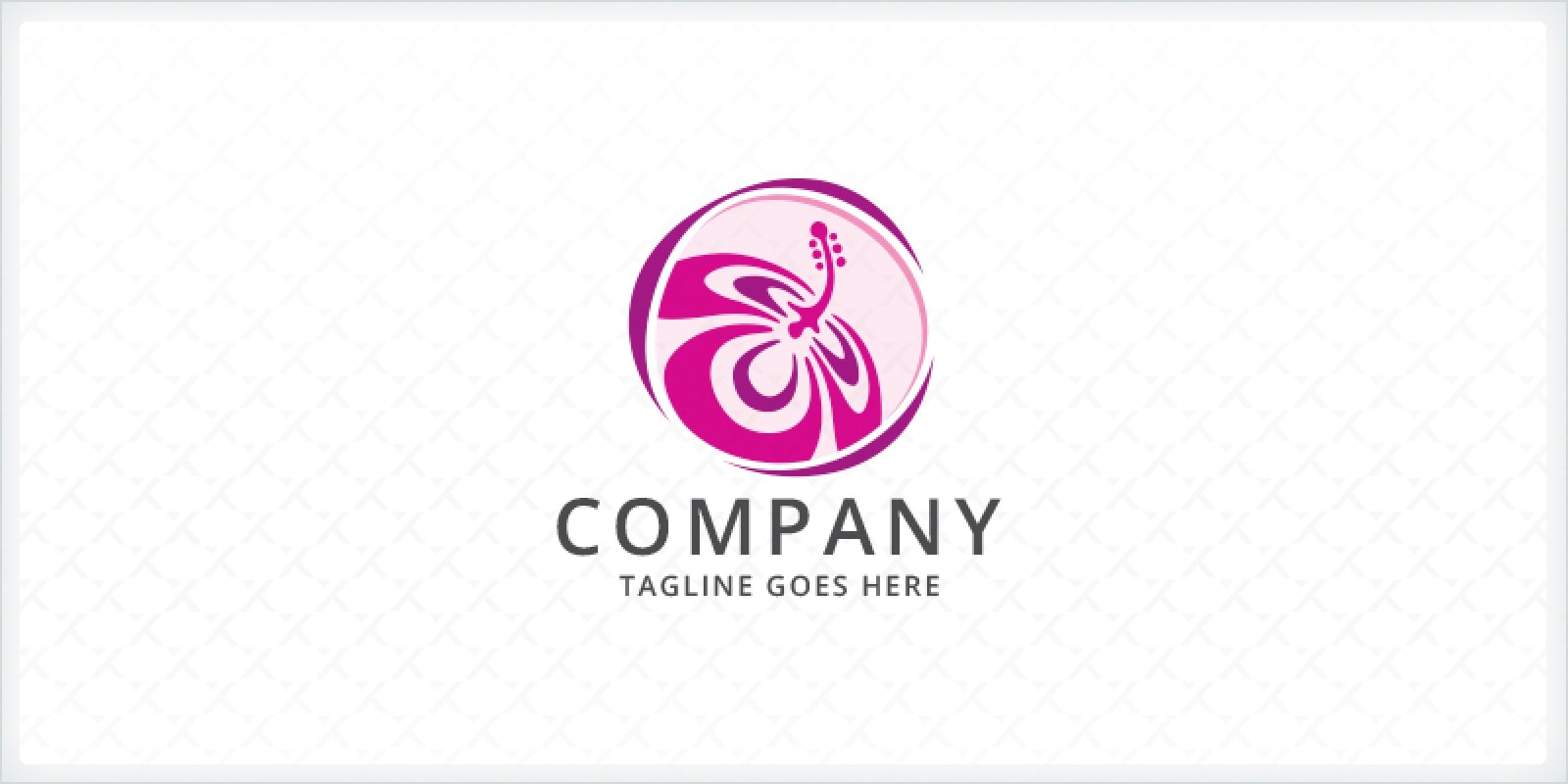 Hibiscus Flower Logo Company Logo Templates Codester