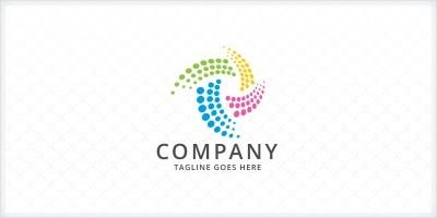 Colorful Dots Logo