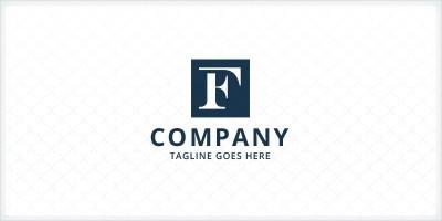 Square Letter F Logo