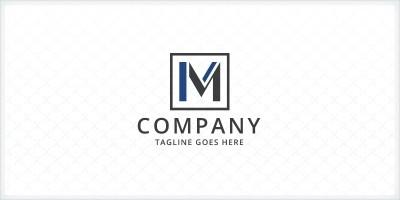 Letter M Frame Logo
