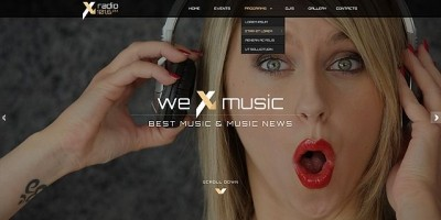 Radio Station - HTML Bootstrap Template