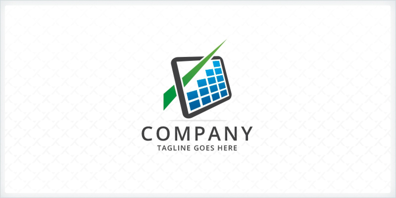 Bar Charts - Financial Logo