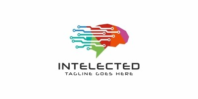 Intelected Brain Logo