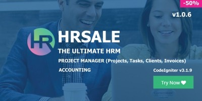 HRSALE - HR Management PHP Script