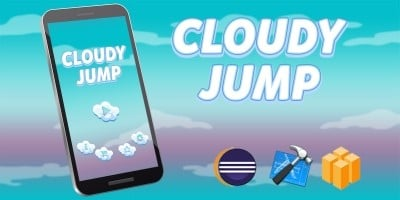 Cloudy Jump Game Template Buildbox