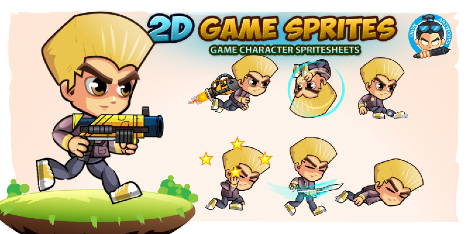 2D Game Character Sprites 18