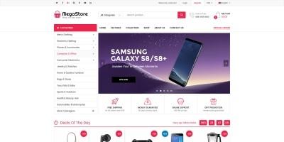 MegaStore - Supermarket OpenCart 3 Theme