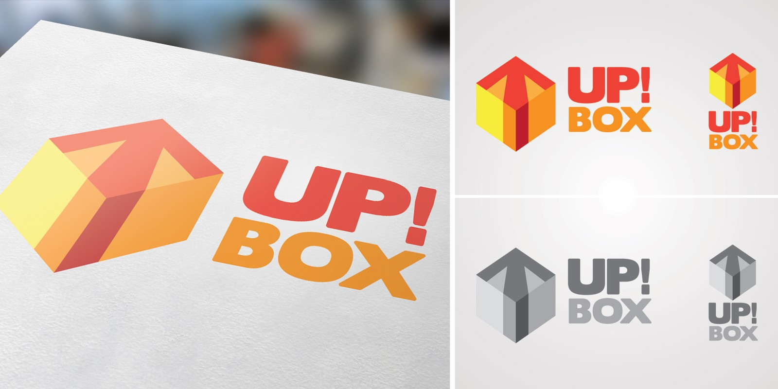 Up Box Logo Template