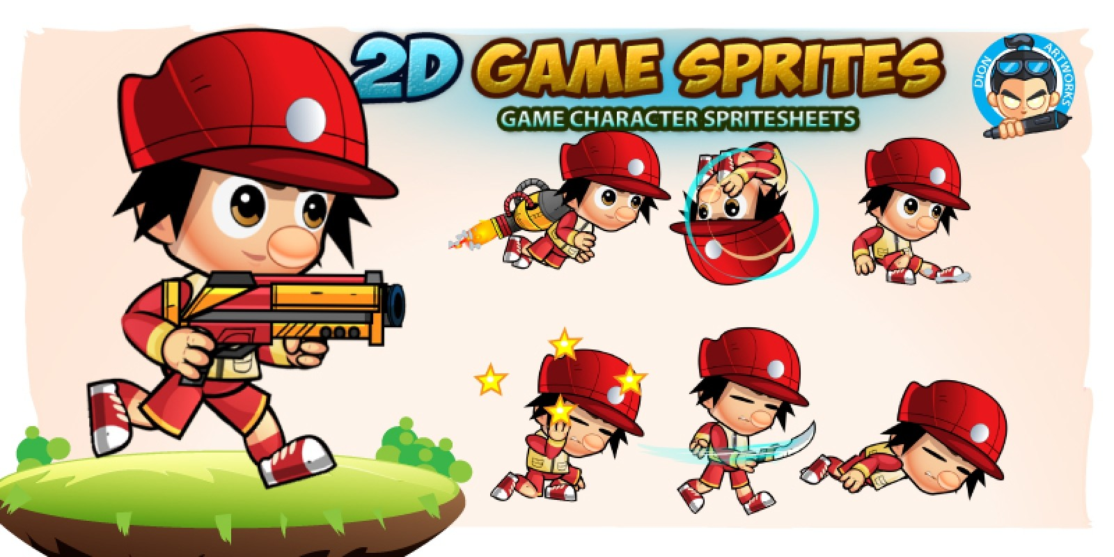 2D Game Character Sprites 19