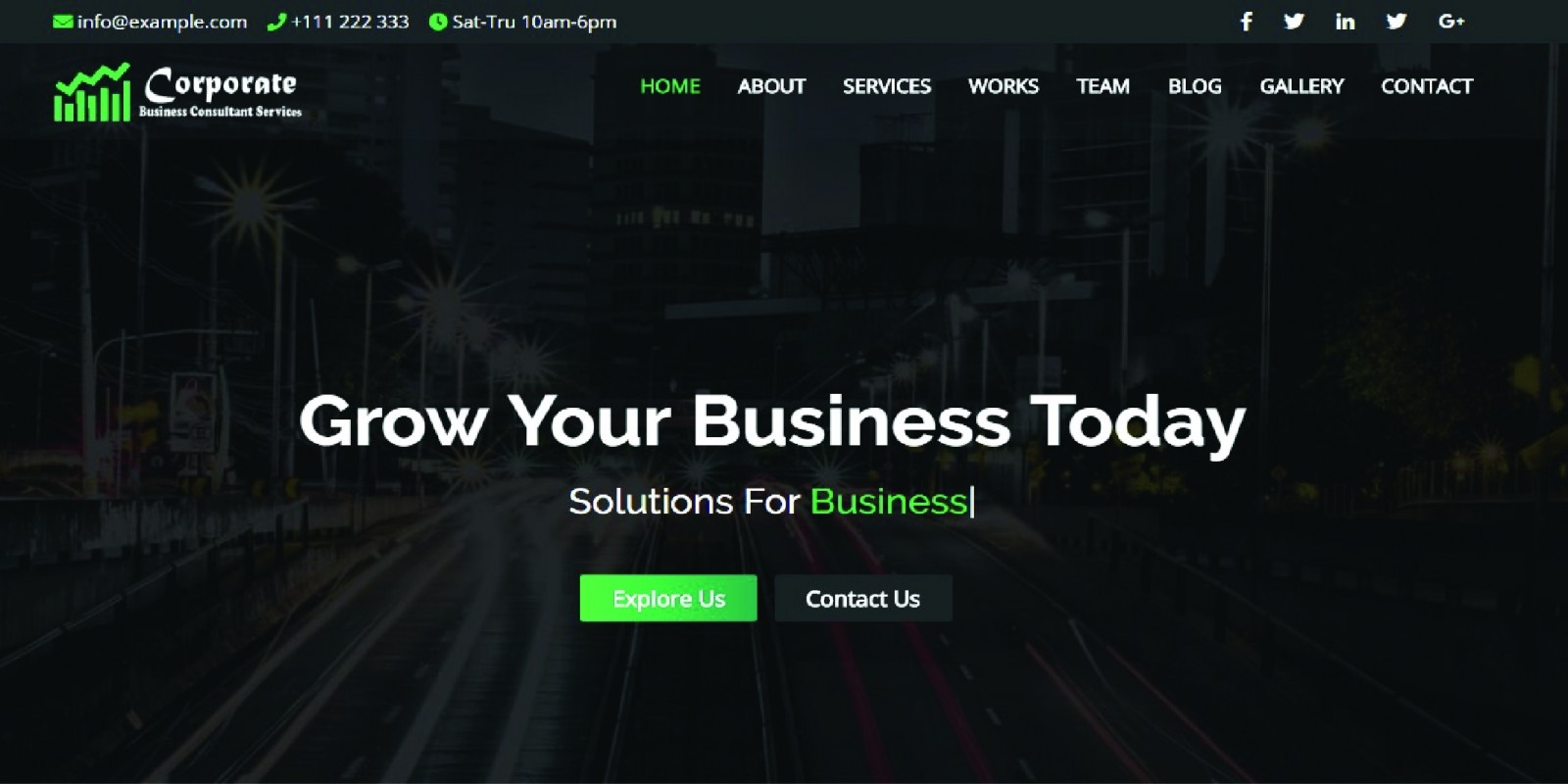 Corporate - Business and Portfolio Template