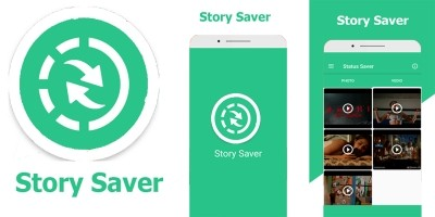 Story Saver For WhatsApp Android Template